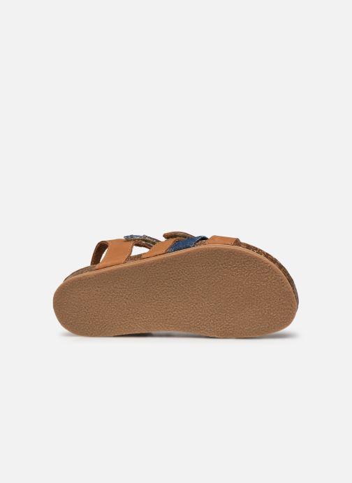 Sandales et nu-pieds Mod8 Styno Marron vue haut