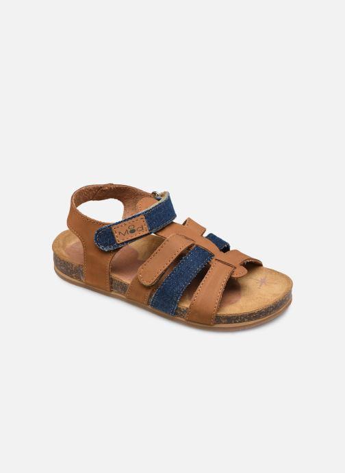 Sandales et nu-pieds Mod8 Styno Marron vue détail/paire