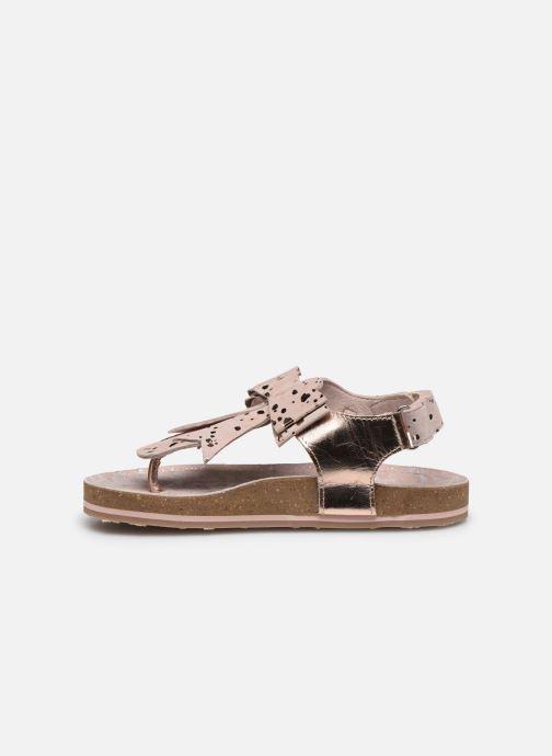 Sandales et nu-pieds Mod8 Koline Rose vue face