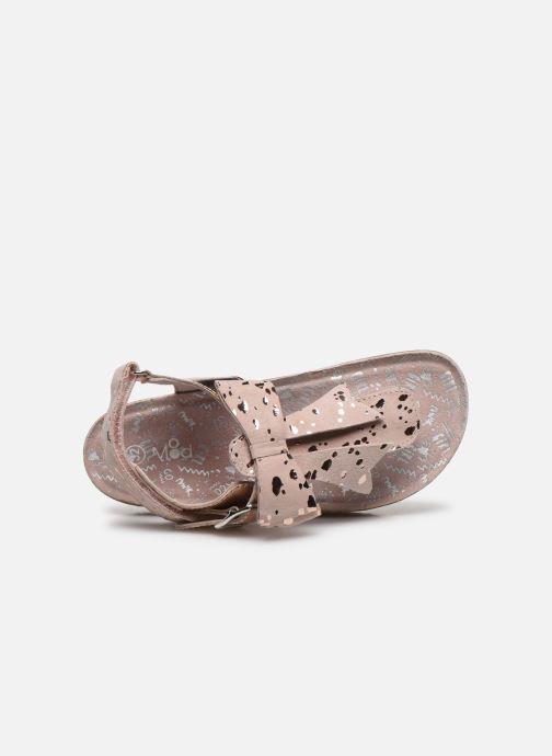 Sandales et nu-pieds Mod8 Koline Rose vue gauche