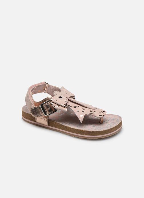 Sandales et nu-pieds Mod8 Koline Rose vue détail/paire