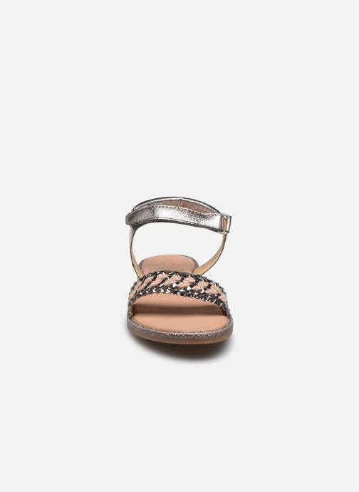 Sandales et nu-pieds Mod8 Pakaza Or et bronze vue portées chaussures