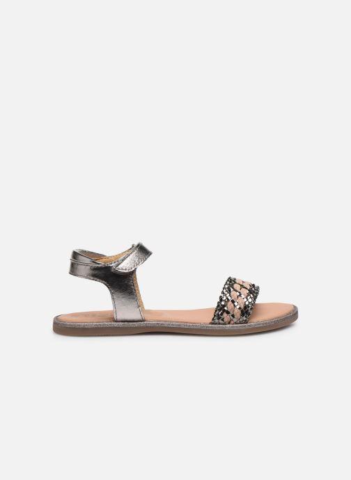 Sandales et nu-pieds Mod8 Pakaza Or et bronze vue derrière
