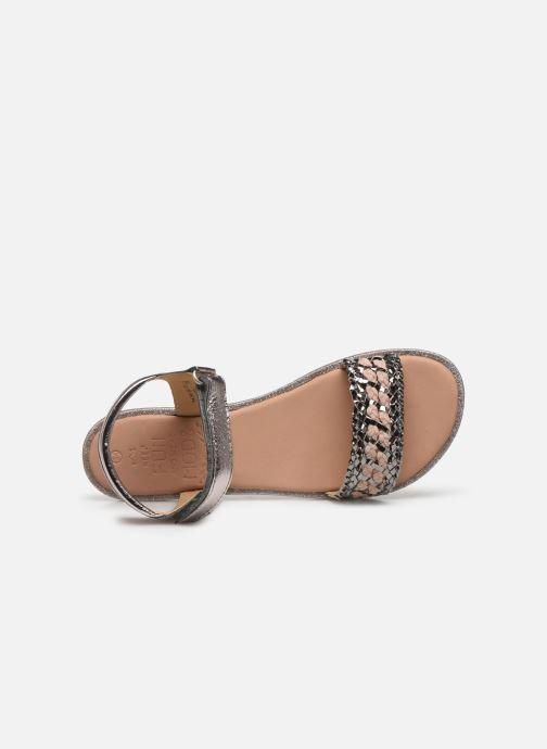 Sandales et nu-pieds Mod8 Pakaza Or et bronze vue gauche
