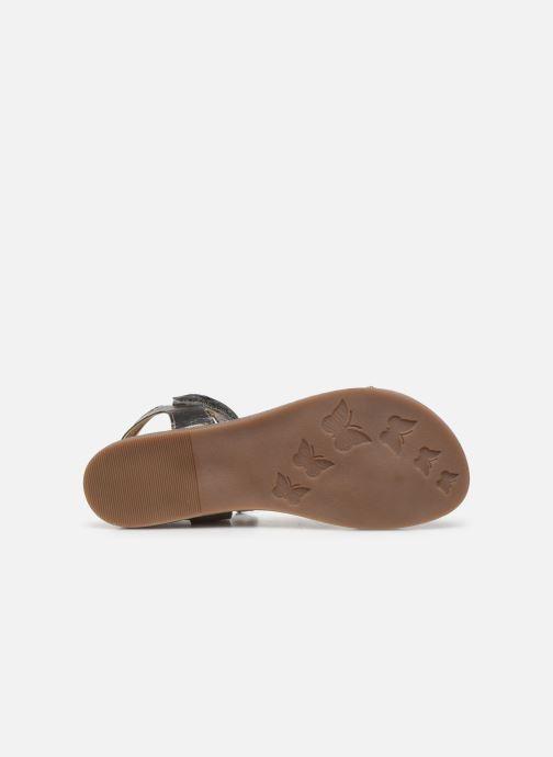Sandales et nu-pieds Mod8 Pakaza Or et bronze vue haut