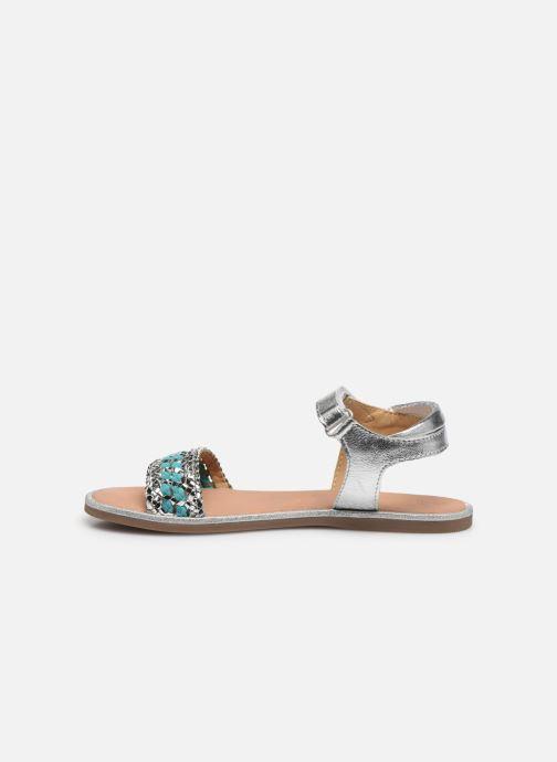 Sandales et nu-pieds Mod8 Pakaza Argent vue face