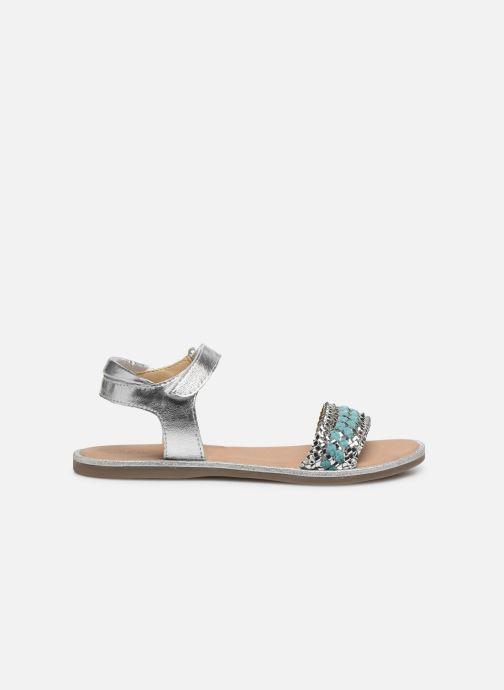 Sandales et nu-pieds Mod8 Pakaza Argent vue derrière