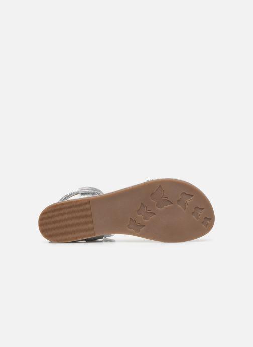 Sandales et nu-pieds Mod8 Pakaza Argent vue haut