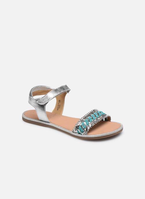 Sandales et nu-pieds Mod8 Pakaza Argent vue détail/paire