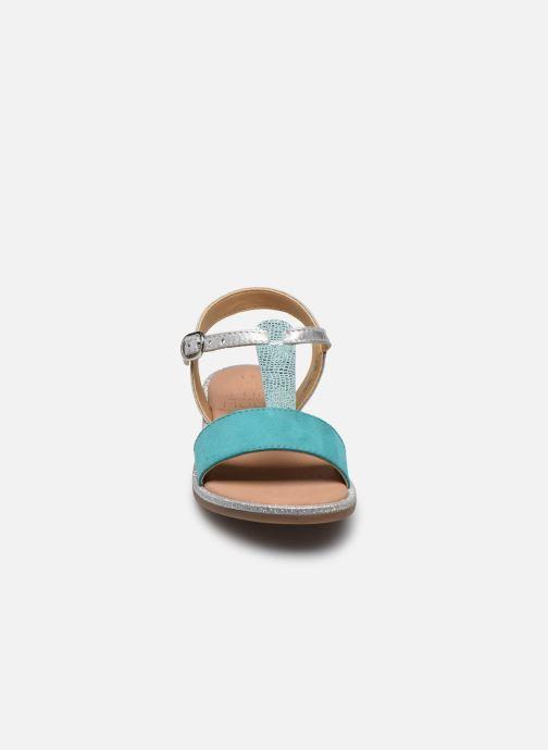 Sandali e scarpe aperte Mod8 Paliky Azzurro modello indossato