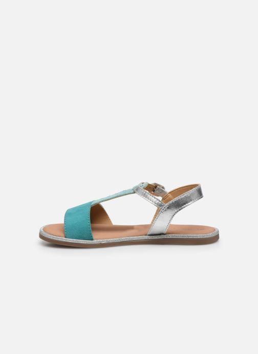 Sandales et nu-pieds Mod8 Paliky Bleu vue face