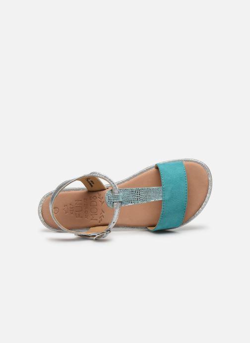 Sandales et nu-pieds Mod8 Paliky Bleu vue gauche