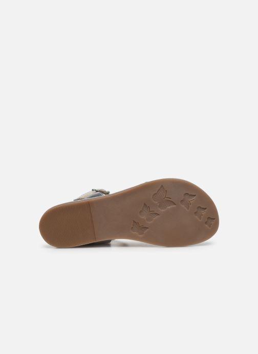 Sandales et nu-pieds Mod8 Paliky Bleu vue haut