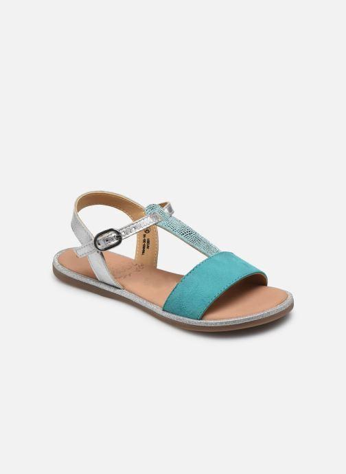 Sandales et nu-pieds Mod8 Paliky Bleu vue détail/paire