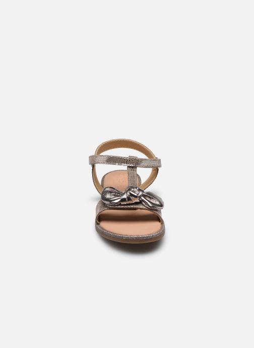 Sandales et nu-pieds Mod8 Palyza Or et bronze vue portées chaussures