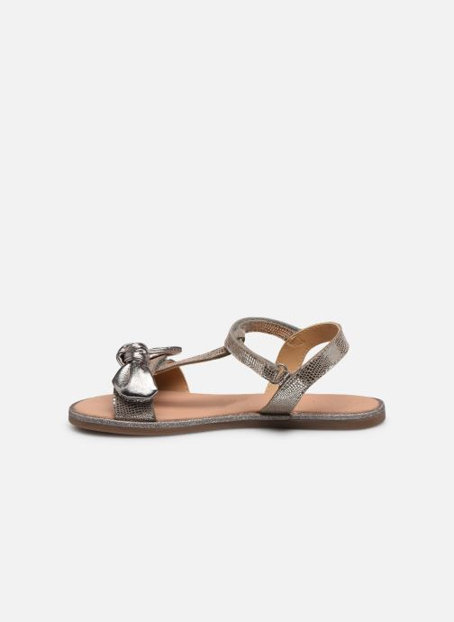 Sandales et nu-pieds Mod8 Palyza Or et bronze vue face