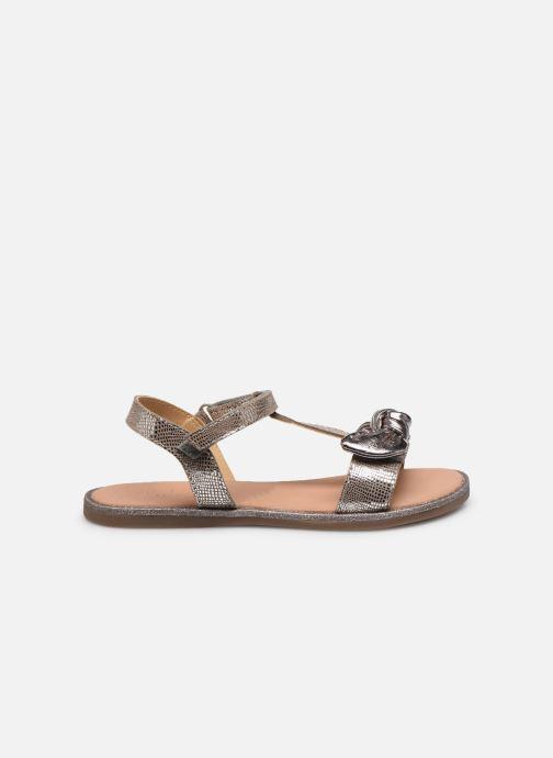 Sandales et nu-pieds Mod8 Palyza Or et bronze vue derrière
