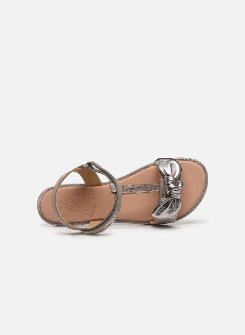 Sandales et nu-pieds Mod8 Palyza Or et bronze vue gauche