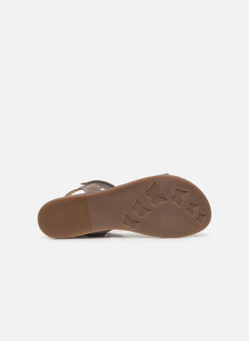 Sandales et nu-pieds Mod8 Palyza Or et bronze vue haut