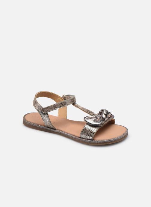Sandales et nu-pieds Mod8 Palyza Or et bronze vue détail/paire