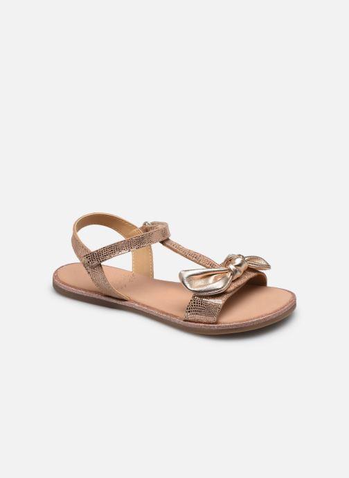 Sandales et nu-pieds Mod8 Palyza Rose vue détail/paire