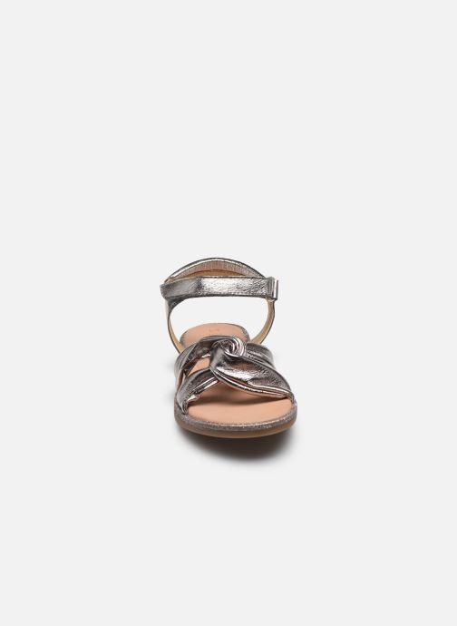 Sandales et nu-pieds Mod8 Patayana Or et bronze vue portées chaussures