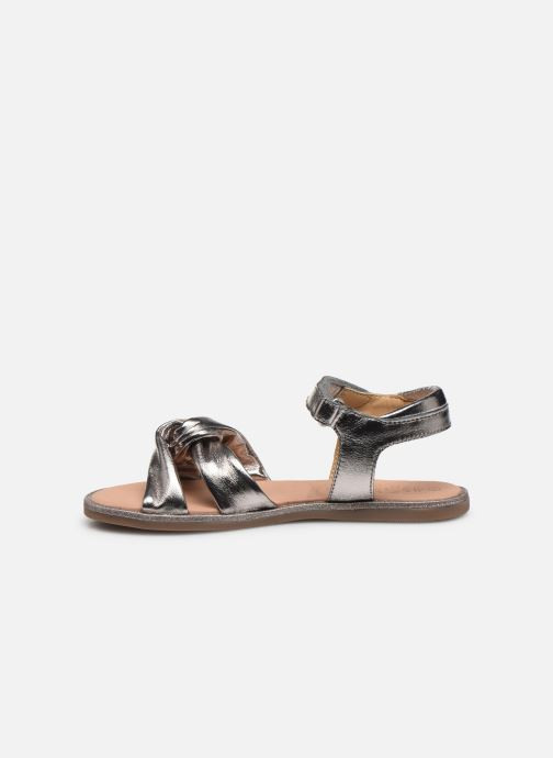 Sandales et nu-pieds Mod8 Patayana Or et bronze vue face