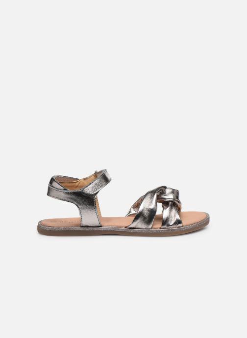 Sandales et nu-pieds Mod8 Patayana Or et bronze vue derrière