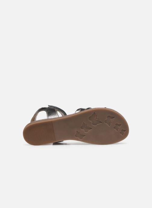Sandales et nu-pieds Mod8 Patayana Or et bronze vue haut