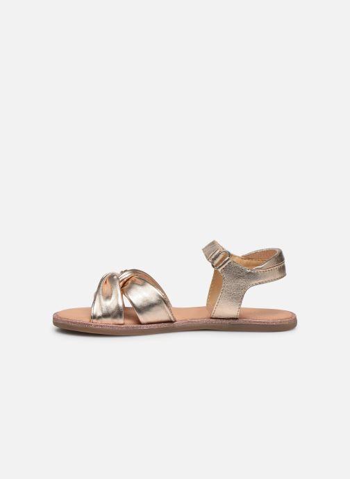 Sandales et nu-pieds Mod8 Patayana Argent vue face