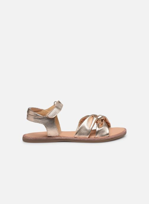 Sandales et nu-pieds Mod8 Patayana Argent vue derrière