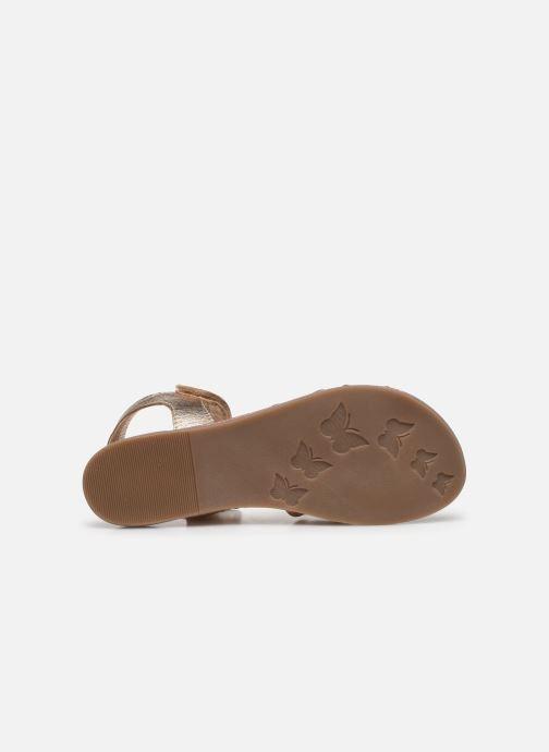 Sandales et nu-pieds Mod8 Patayana Argent vue haut