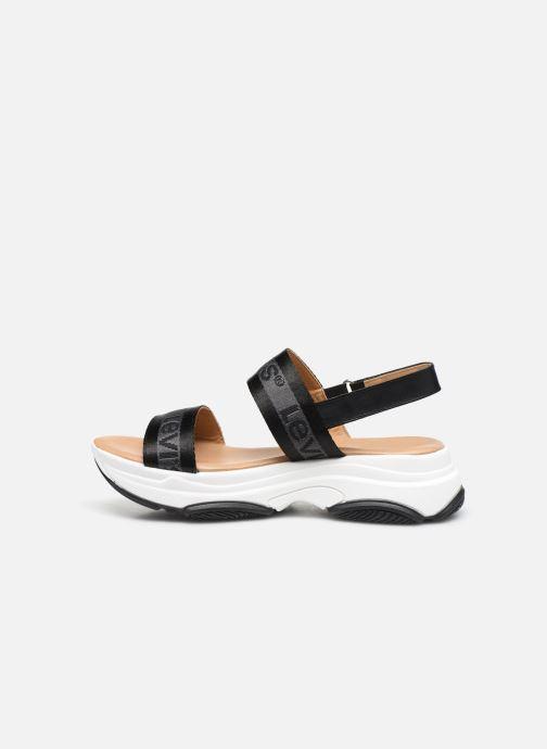 Sandales et nu-pieds Levi's Lagunita Noir vue face