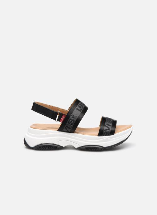 Sandales et nu-pieds Levi's Lagunita Noir vue derrière