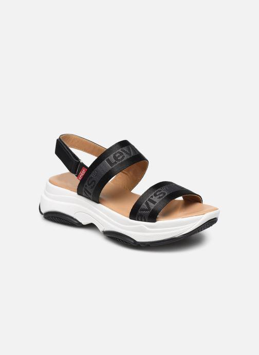 Sandales et nu-pieds Levi's Lagunita Noir vue détail/paire