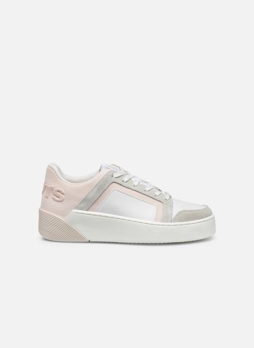 Sneakers Levi's Mullet S 2.0 Bianco immagine posteriore