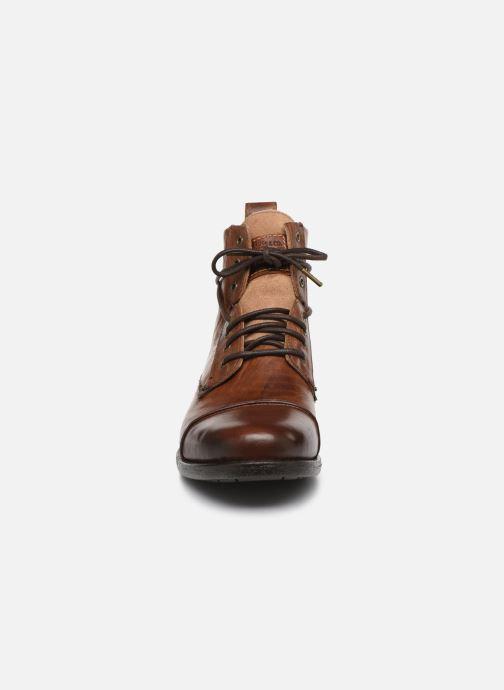 Bottines et boots Levi's Emerson Marron vue portées chaussures
