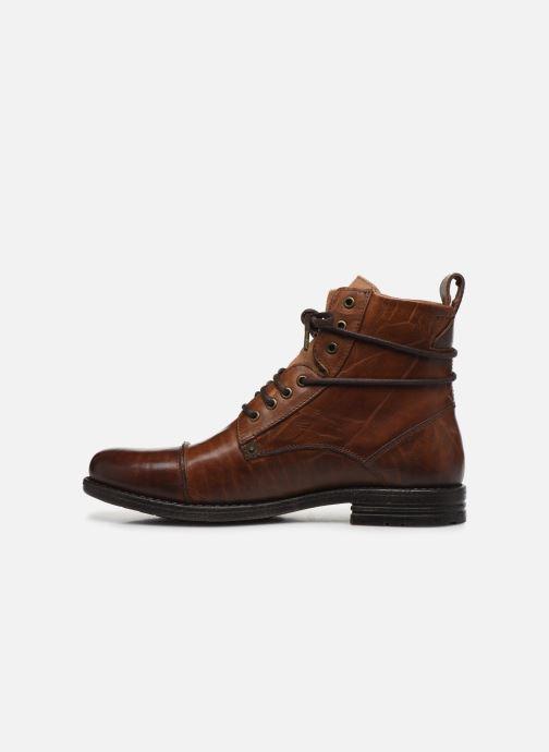 Bottines et boots Levi's Emerson Marron vue face