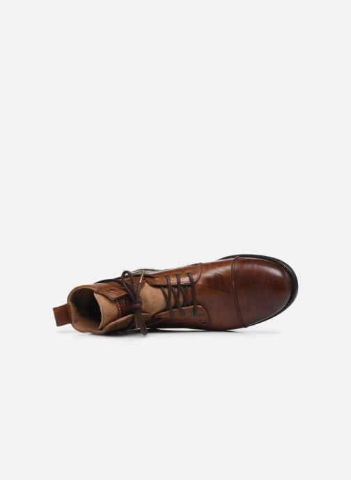 Bottines et boots Levi's Emerson Marron vue gauche