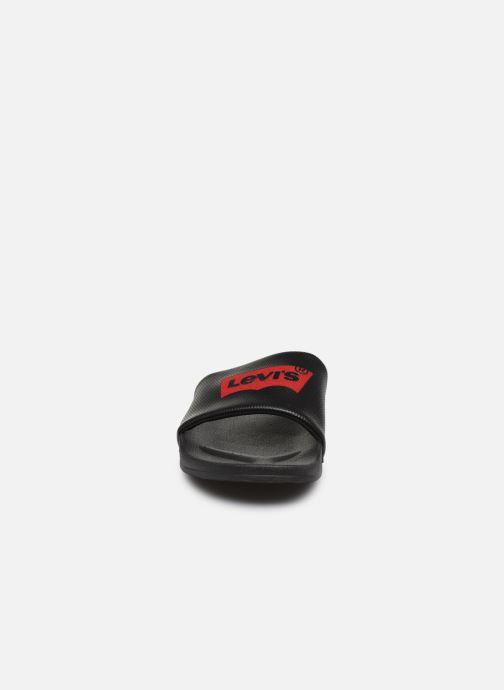 Sandales et nu-pieds Levi's June Batwing New Noir vue portées chaussures