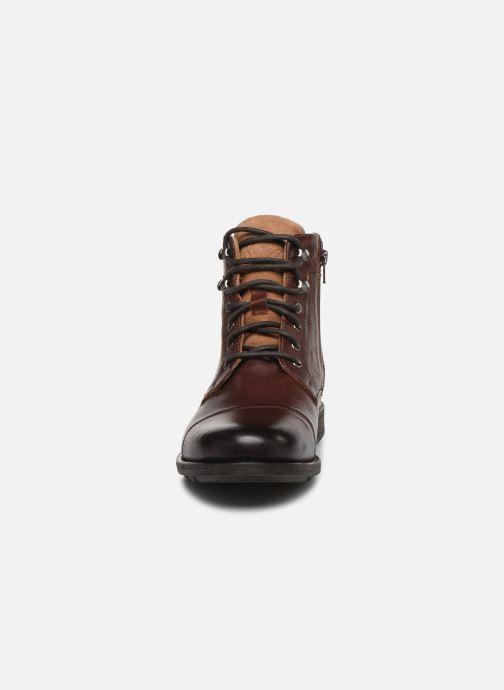 Bottines et boots Levi's Reddinger Marron vue portées chaussures