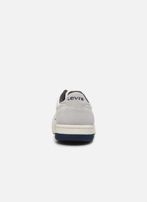 Baskets Levi's Wishon Blanc vue droite