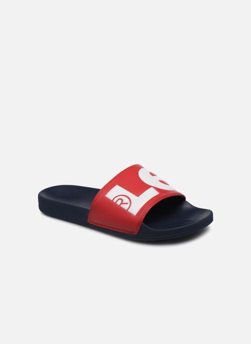 Sandales et nu-pieds Levi's June L Rouge vue détail/paire