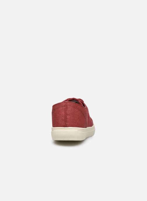 Deportivas Levi's Pillsbury Rojo vista lateral derecha