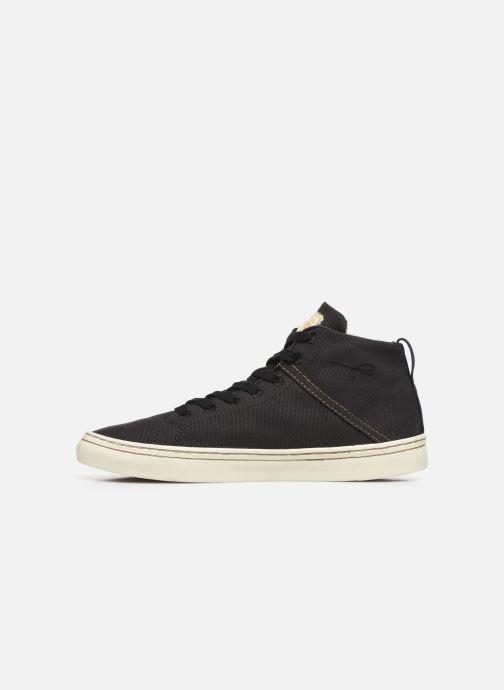 Sneaker Levi's Sherwood High schwarz ansicht von vorne
