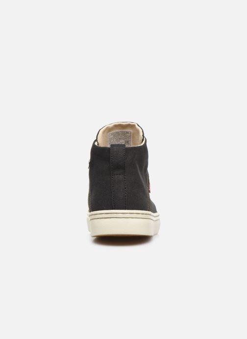 Sneaker Levi's Sherwood High schwarz ansicht von rechts