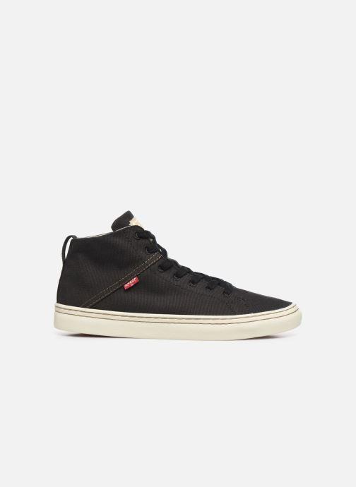 Sneaker Levi's Sherwood High schwarz ansicht von hinten