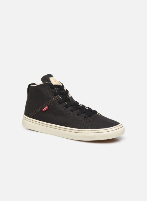 Sneakers Levi's Sherwood High Sort detaljeret billede af skoene