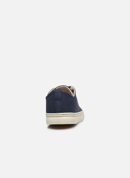 Sneaker Levi's Sherwood Low blau ansicht von rechts
