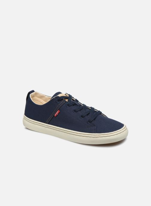 Baskets Levi's Sherwood Low Bleu vue détail/paire